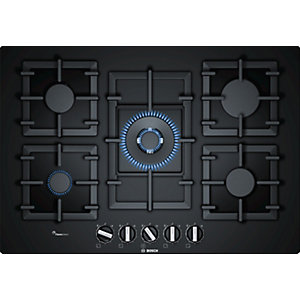 Bosch Serie 6 75 cm Gas On Glass Hob - PPQ7A6B90