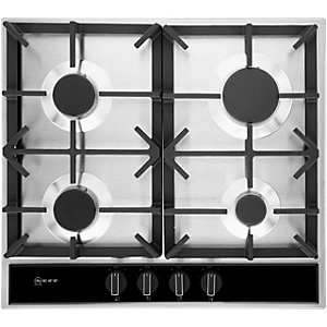 NEFF Gas Hob Flame Select 60cm Black T26DA49N0