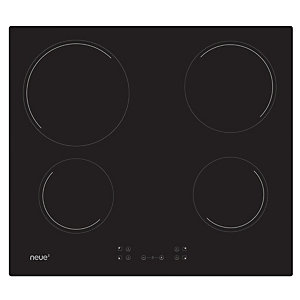 Neue 60Cm Ceramic Hob With Front Touch Control Black Glass Nh64Ccb