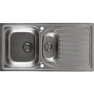 Astracast Alto 1.5 Bowl Stainless Steel Inset Sink