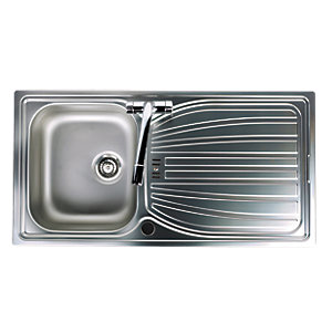 Astracast Alto 1 Bowl Stainless Steel Inset Sink