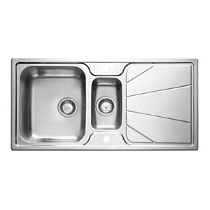 Astracast Korona 1.5 Bowl Stainless Steel Inset Sink