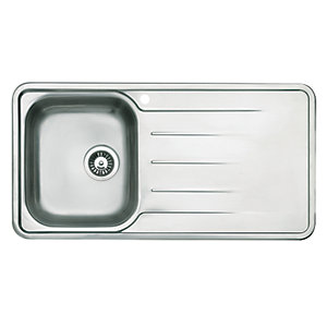 Astracast Topaz 1 Bowl Stainless Steel Inset Sink