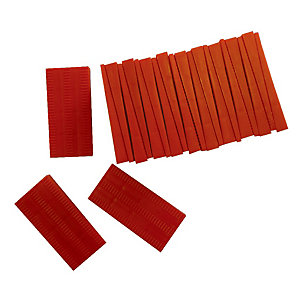 Western Cork Flooring Spacers Red Pack of 22