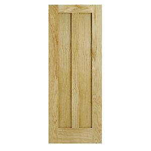 Internal 2 Panel Oak Door