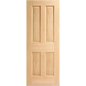 Internal 4 Panel Oak Door