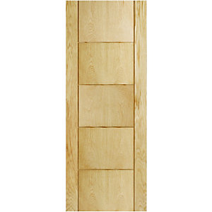 Internal 5 Groove Oak Door
