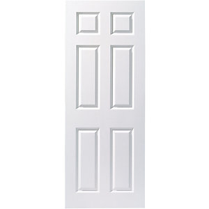 Internal 6 Panel Smooth 30 Min Fire Door