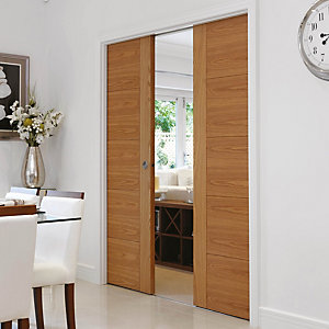 Double Pocket Door Conversion Kit 1981 x 762mm