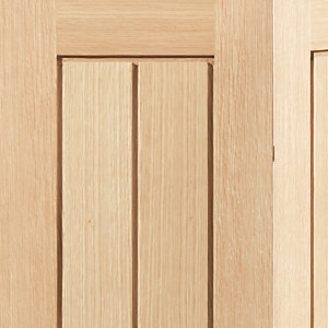 Oak Internal Suffolk Bifold Door 1981 x 762 x 35mm 30 in
