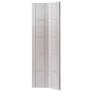 White Tigris Prefinished Bifold Internal Door 35 x 1981 x 762mm