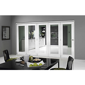 Jci 545701 Internal Bifold Room Divider Door Pre-finished White 3590mm
