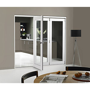 Jci 545833 Internal Bifold Room Divider Door Pre-finished White 2690mm