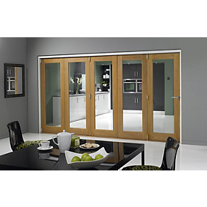 Jci 545924 Internal Pattern 10 Bifold Door Oak Veneer 3590mm