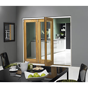 Jci 546461 Internal Pattern 10 Bifold Door Oak Veneer 2690mm