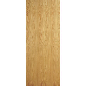 Internal Oak Flush Veneer Door