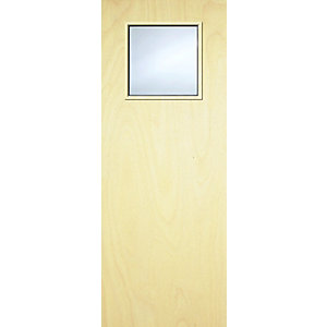 Internal Ply Flush 1G Glazed 30 Min Fire Door