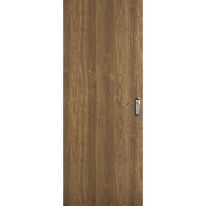 Internal Walnut Veneer 30 Min Fire Door