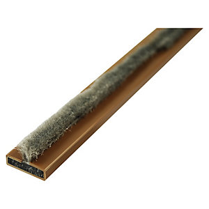 4FIREDOORS FS121/25 Fire and Smoke Seal Brown 15 x 4 x 2100mm