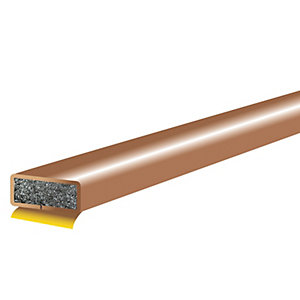 Intumescent Fire Seal Brown 1050mm x 10mm x 4mm Single Door Pack FD211