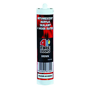 Intumescent Sealant Brown - FD302