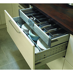 Blum Concealed Drawer Unit Grey 900