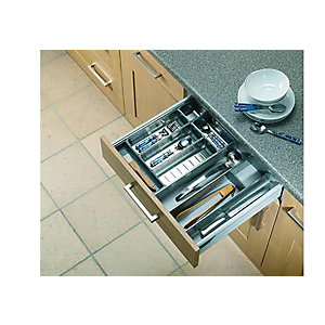 Internal Drawer Storage Grey 300mm