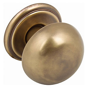 Handle Option 38 Brushed Brass Knob (38mm)