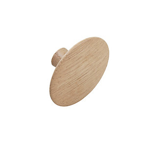 Handle Option 40 Natural Oak Knob (48mm)