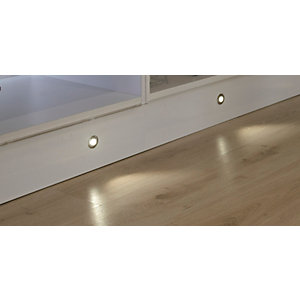 Sirius Round LED Plinth 4 Light Kit