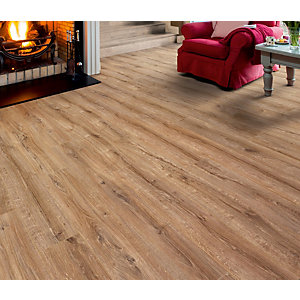 Elka Laminate Country Oak Flooring 1261 x 192 x 8mm Pack Size 2.179m2