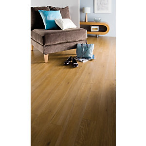 Kronospan Original Aberdeen Oak Laminate Flooring 1285 x 192 x 8mm Pack Size 2.22m2