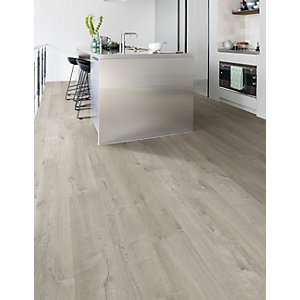 Quick Step Impressive Soft Oak Grey Laminate Flooring 1380 x 190 x 8mm Pack Size 1.835m2