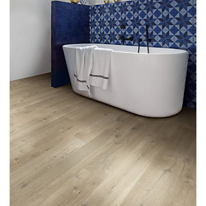 Quick Step Impressive Soft Oak Light Brown Laminate Flooring 1380 x 190 x 8mm Pack Size 1.835m2