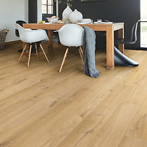 Quick Step Impressive Soft Oak Natural Laminate Flooring 1380 x 190 x 8mm Pack Size 1.835m2