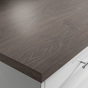Laminate Kingwood Square Edged Worktop 600mm x 38mm x 3m