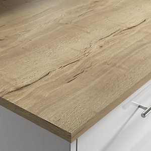 Wilsonart Eton Oak Breakfast Bar 3000 x 900 x 22mm Square Laminate Edge
