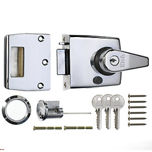 ERA Double Locking Door Lock 60mm Chrome