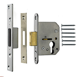 ERA Euro Deadlock Chrome and Brass Striking Plates 64mm 225-3-6-1