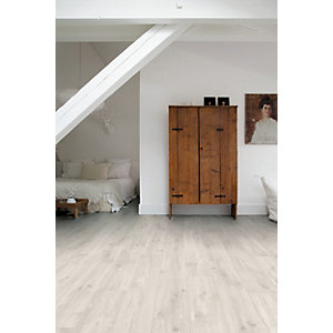 Quick Step Luxury Vinyl Canyon Oak Light with Saw Cuts