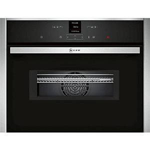 Neff Compact Multifunction Oven With Microwave Small Display - C17MR02N0B