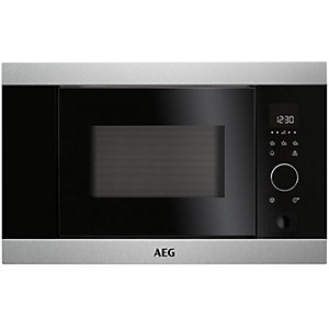 AEG Compact Combi Microwave Oven - KMK761000m