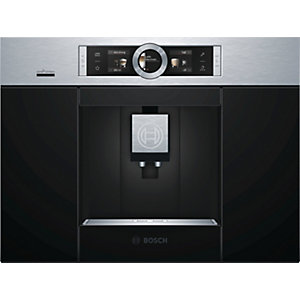 Bosch Serie 8 Home Connect Fully Automatic Built In Coffee Machine Stainless Steel Ctl636Es6