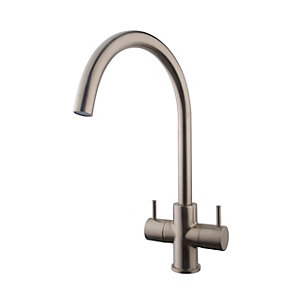 Chantilly Monobloc Sink Mixer Brushed Nickel