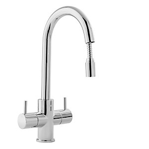 Chantilly Pull Out Sink Mixer Chrome