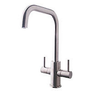 Colmar Monobloc Sink Mixer Tap Brushed Nickel