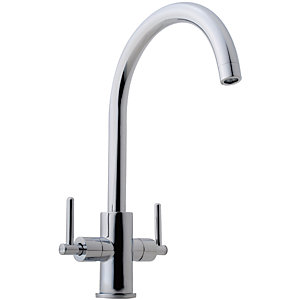 iflo Malanda Chrome Monobloc Kitchen Tap