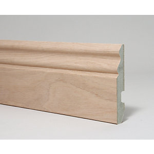 Architrave Ogee White Walnut 4400 mm x 68 mm x 18 mm