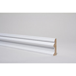Architrave Victorian White 4400 mm x 80 mm x 22 mm