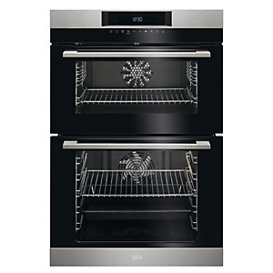 AEG Built-In Double Oven DCK731110M